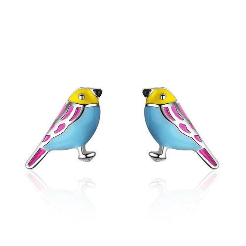 Cute Little Bird Studs
