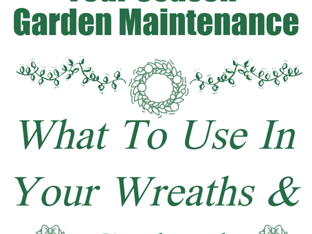 What to use in your wreaths & garlands