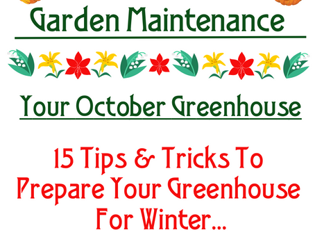 Your October Greenhouse