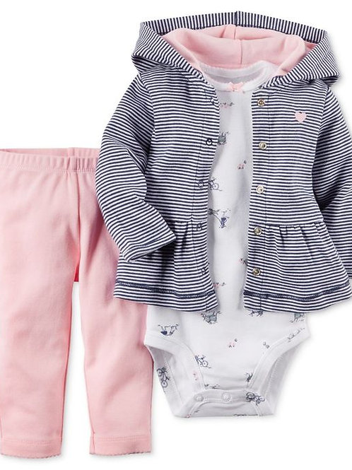 Carter's嬰兒三件套裝