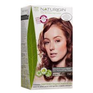 Naturigin Hair Dye-Medium Blonde Red 7.4-啡紅色7.4