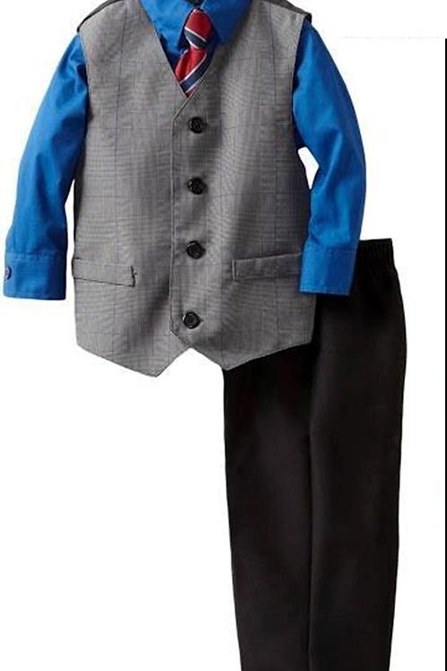 Nautica 兒童西裝4件套裝 (3T/4T歲)