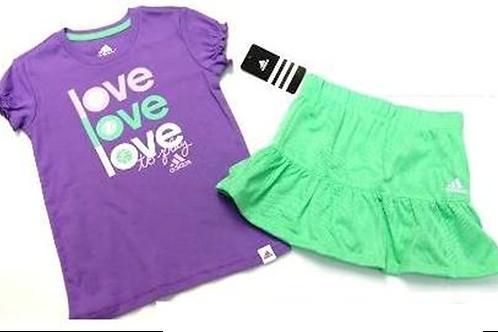 Adidas 兒童兩件套裝