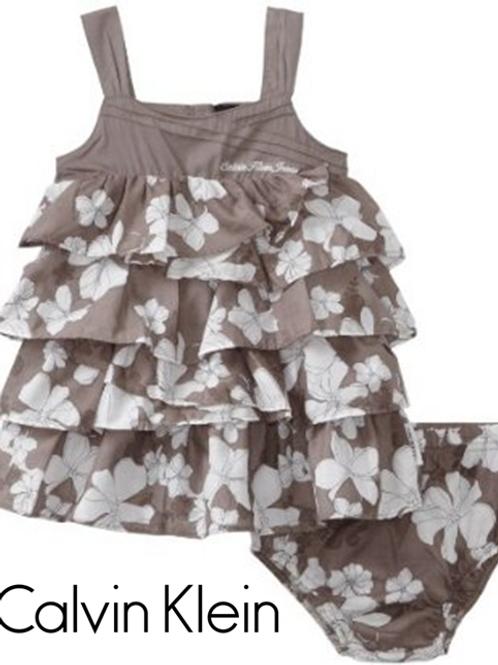Calvin Klein 嬰幼兒兩件套裝 (連打底褲)