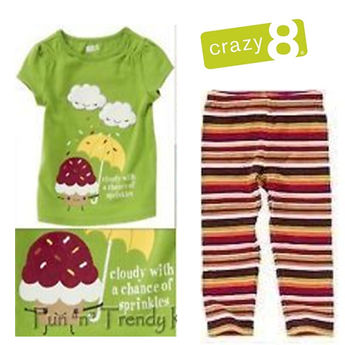 Crazy8 嬰幼兒兩件套裝