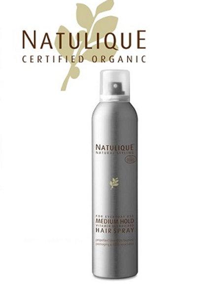 Natulique Medium Hold Hairspray 有機認證天然頭髮定型噴髪膠 300m