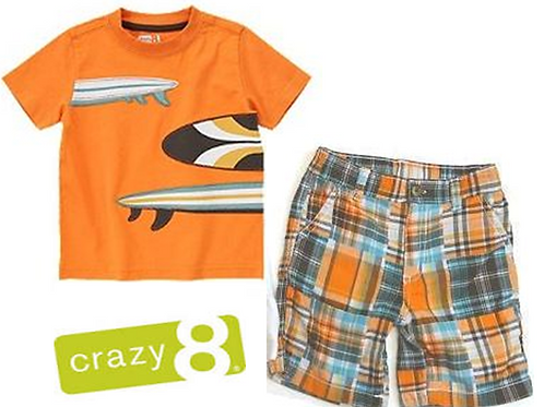 Crazy8 兒童兩件套裝