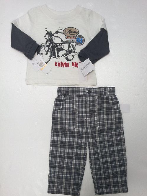 Calvin Klein 嬰幼兒兩件套裝