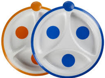 Dr.Brown 嬰幼兒餵食餐碟 (一盒兩碟)