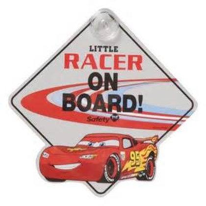 Disney Pixar McQueen 汽車告事牌