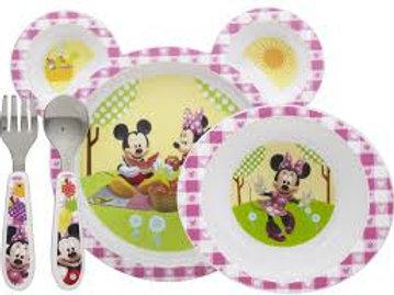 迪士尼米奇妙妙屋4件裝食物餐具( The First Years 出品)