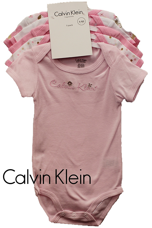 Calvin Klein 嬰兒連身衣全套五件