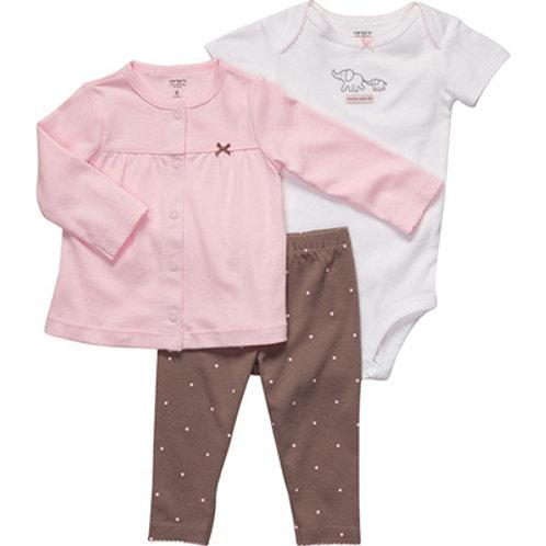 Carter's 嬰兒三件套裝