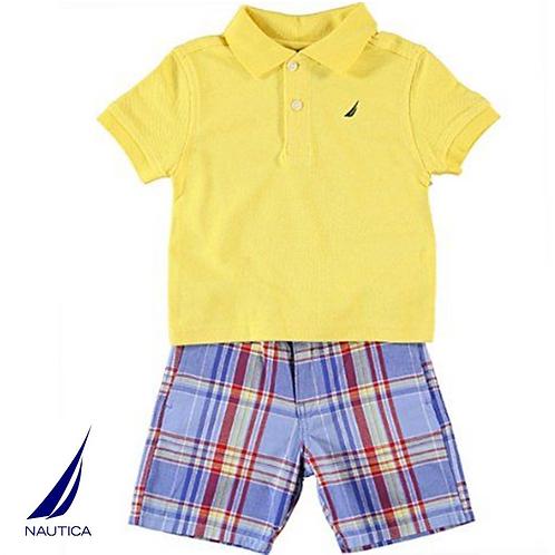 Nautica 嬰兒兩件套裝