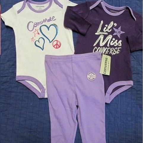 Converse 嬰兒三件套裝