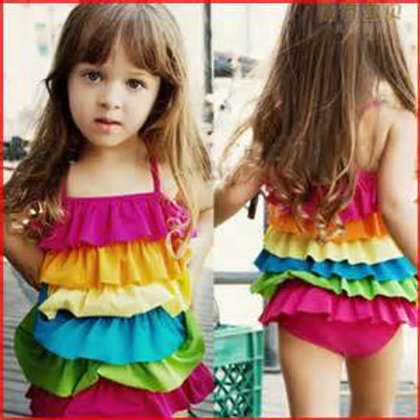 Gymboree 幼兒兩件泳衣套裝