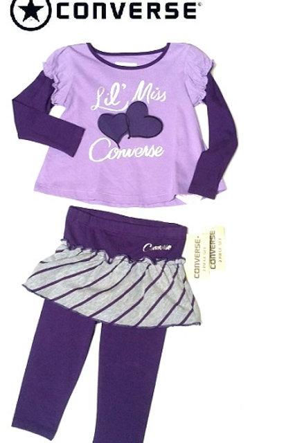 Converse 嬰幼兒兩件套裝 (18M月)