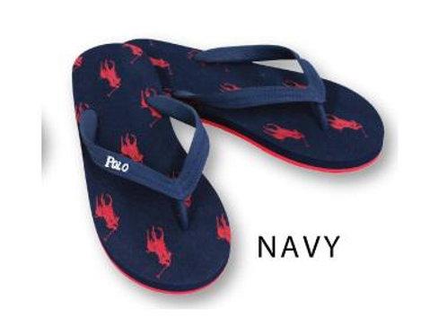 Ralph Lauren 舒適馬仔沙灘涼鞋