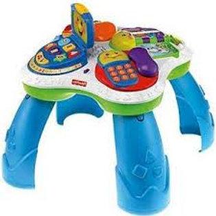 Fisher-Price 嬰幼兒雙語(英語及西班牙話)學習音樂玩具枱