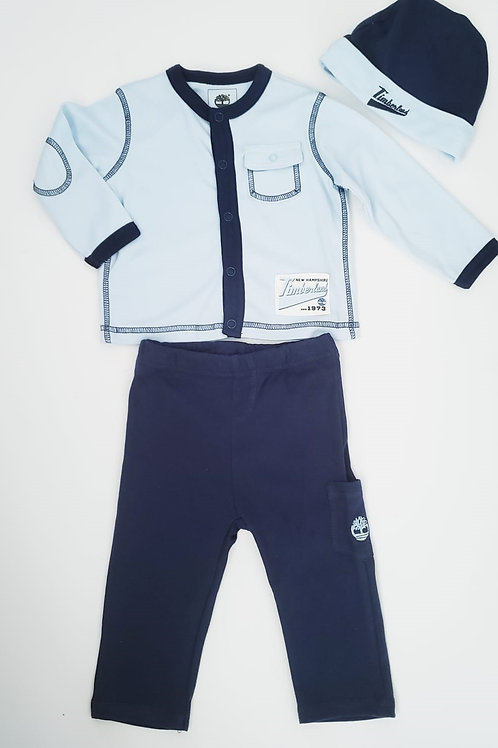Timberland 嬰兒三件套裝(3-6M月, 6-9M月)