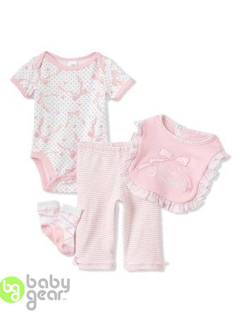 babygear 嬰兒連身衣全套四件