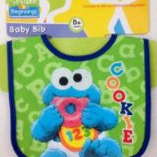 Sesame Cookie Monster 防水面圍巾