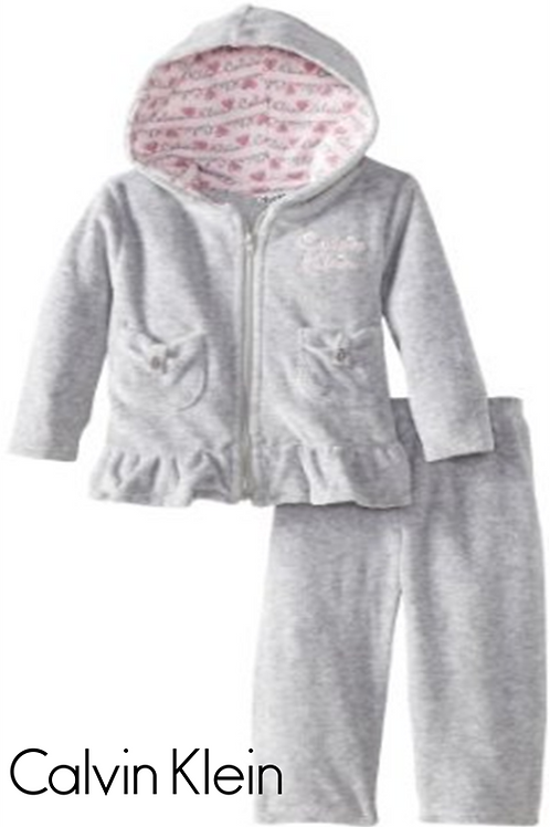 Calvin Klein 嬰幼兒兩件套裝(12M/18M月)