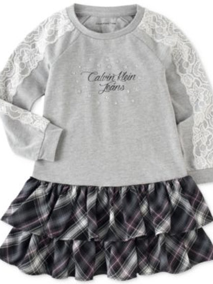 Calvin Klein 女仔花花裙連底褲兩件套裝