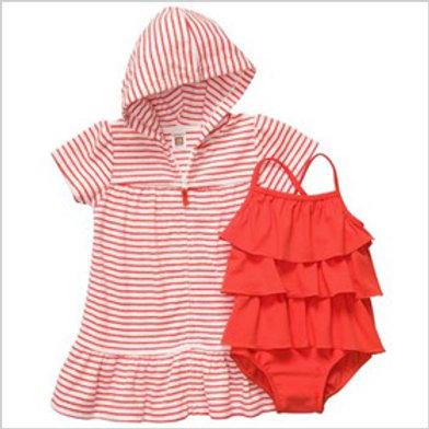 Carter's 幼兒兩件泳衣套裝