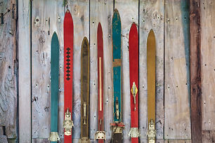 Collection of vintage wooden weathered s