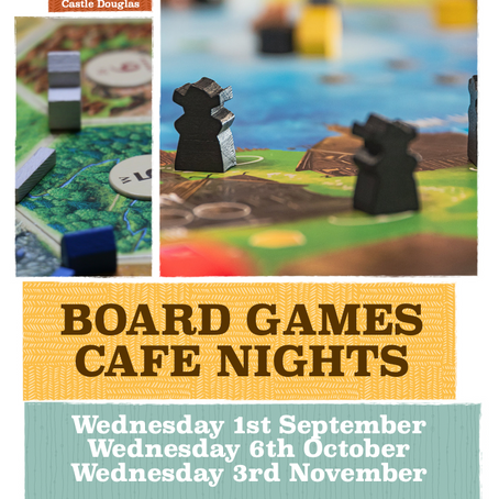 Board Games Cafe Nights