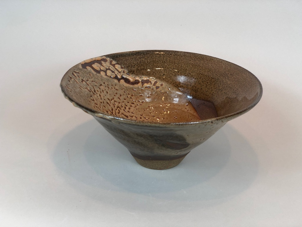 Wood-fired Shino bowl