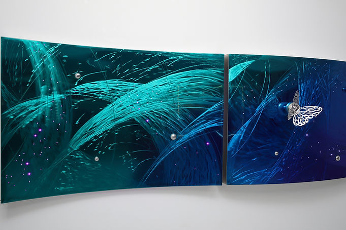 Sound of Nature,urethane painted on stai