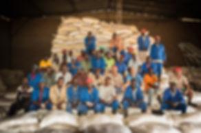 Peter Edmondson & Red Dane Farm team Zimbabwe