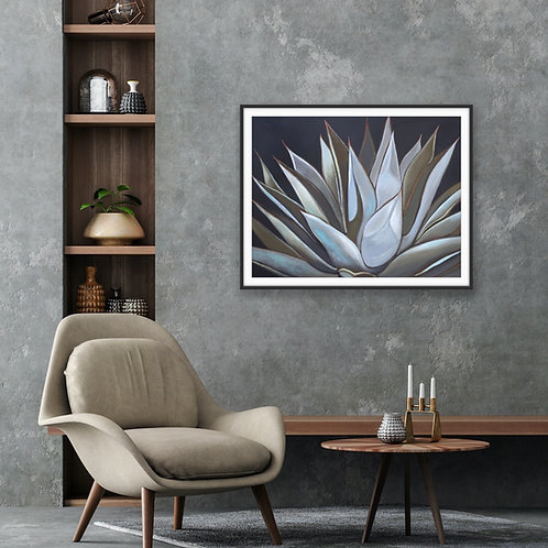 Silver and Bronze Agave