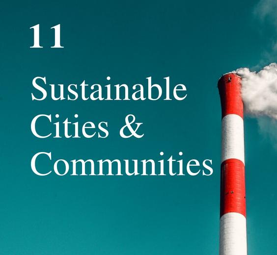 SDG 11: Sustainable Cities & Communities