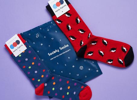 Society Socks: Bold Socks With a Social Cause