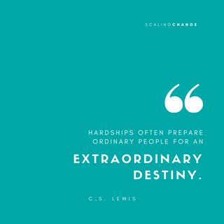 C.S. Lewis - Scaling Change