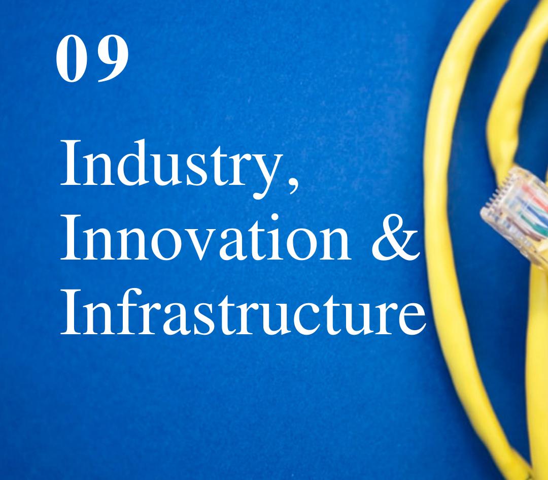 SDG 9: Industry, Innovation & Infrastructure