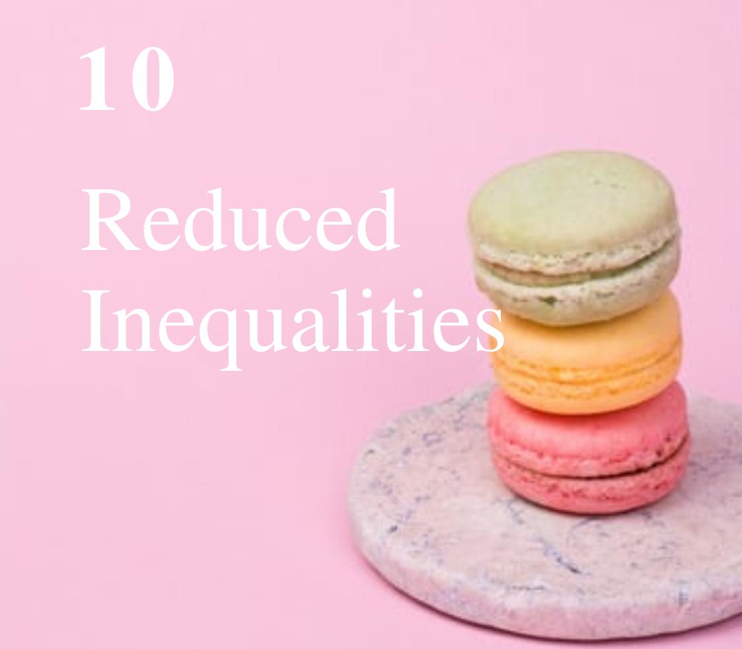 SDG 10: Reduce Inequalities