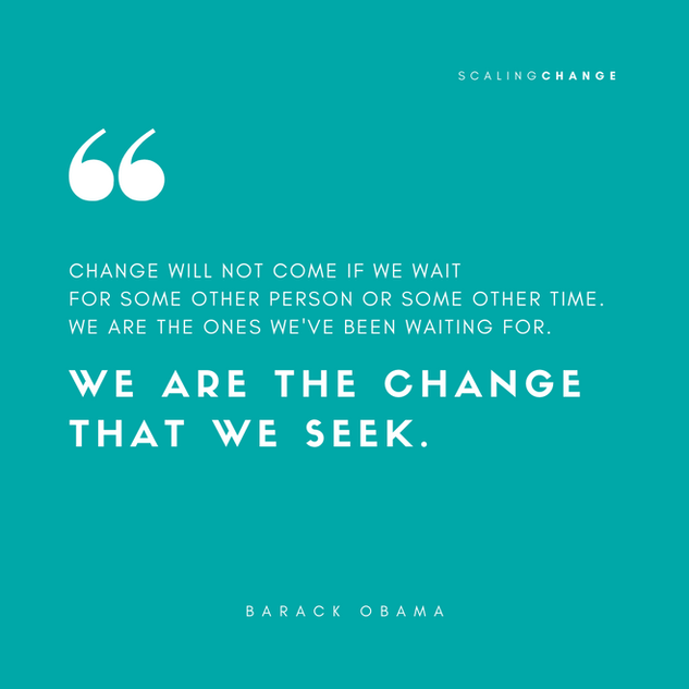 Barack Obama - Scaling Change