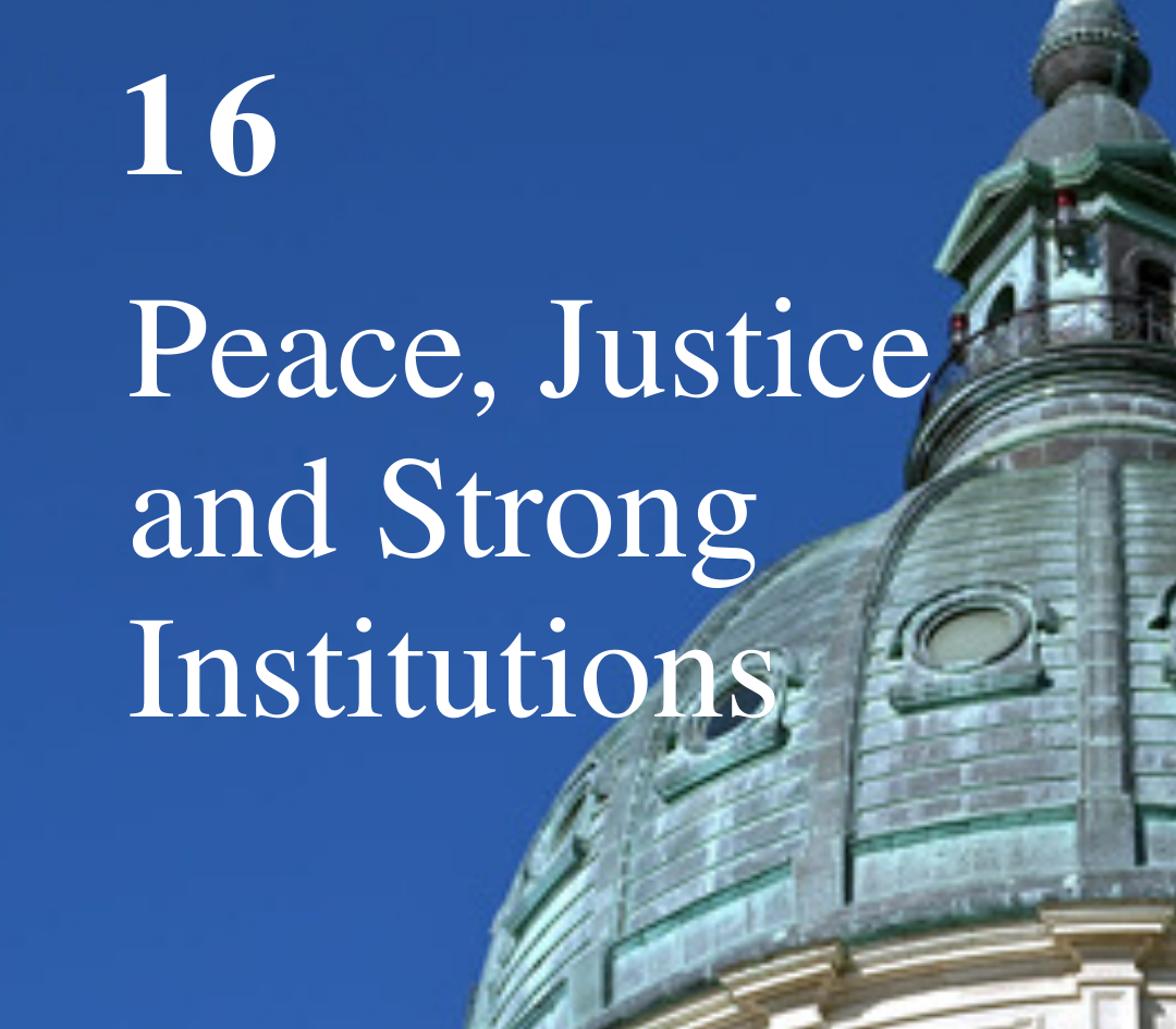 SDG 16: Peace, Justice, and Inclusive Societies