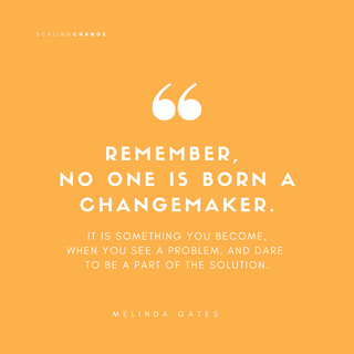Melinda Gates - Scaling Change