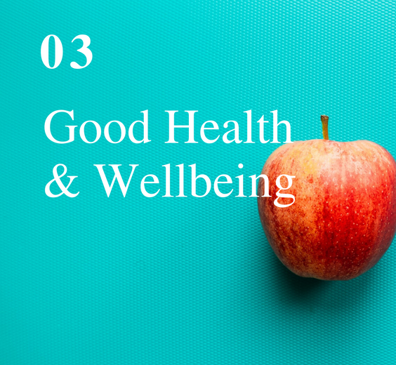 SDG 3: Good Health & Wellbeing