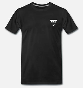 eelsucker hacked off shirt black