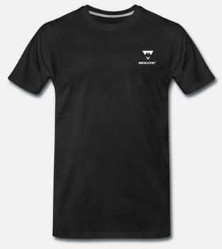 eelsucker basic t-shirt black