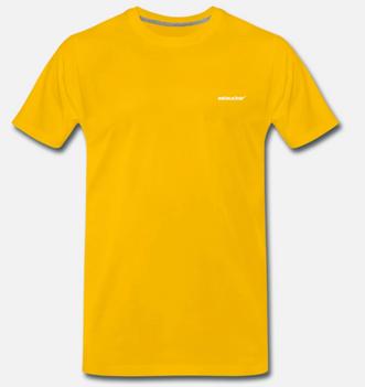 eelsucker basic shirt yellow