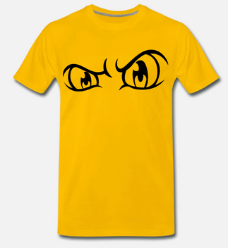 eelsucker hacked off big yellow eyes