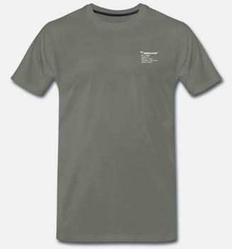 eelsucker basic shirt letter oliv