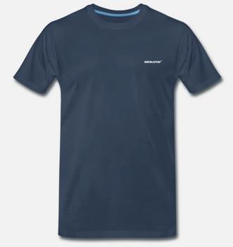 eelsucker basic shirt blue